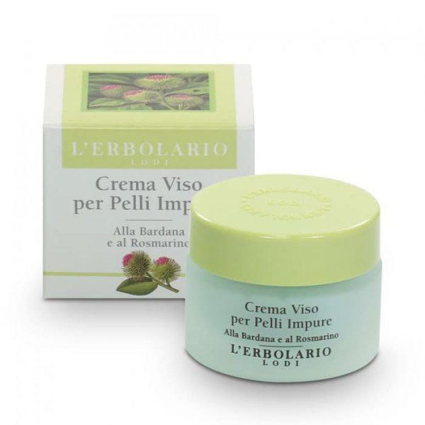 'Erbolario Крем для жирной загрязненной кожи лица с репейником и розмарином