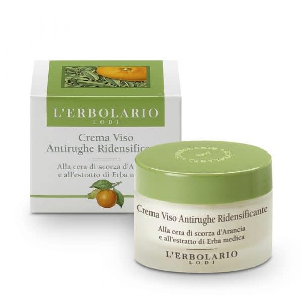 L'Erbolario Крем для лица против морщин Упругая кожа с воском из апельсиновой корки и экстрактом люцерны 50 мл