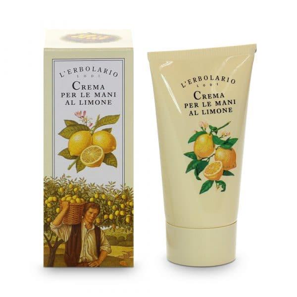 L'Erbolario Лимонный крем для рук 75 мл