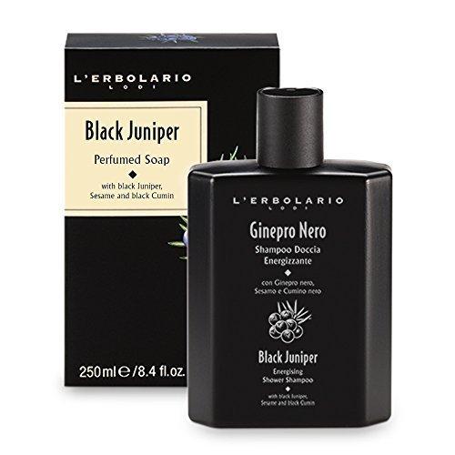 L'Erbolario Черный Можжевельник шампунь-гель для душа 250 мл