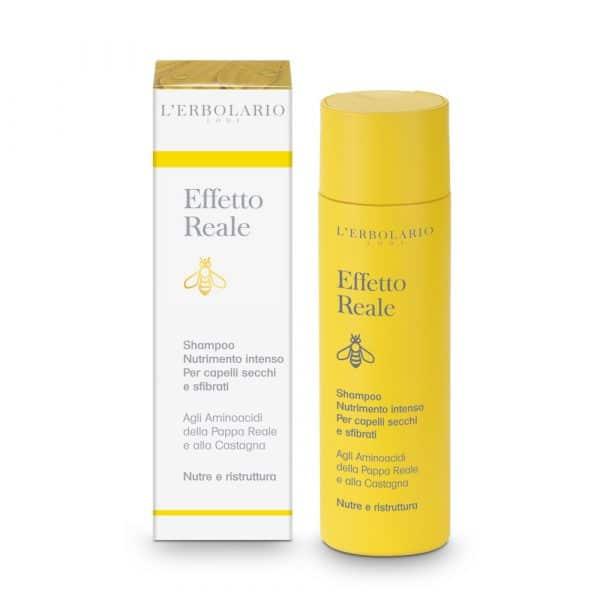L'Eerbolario Пчелиное молочко шампунь для интенсивного питания и восстановления структуры сухих волос 200 мл