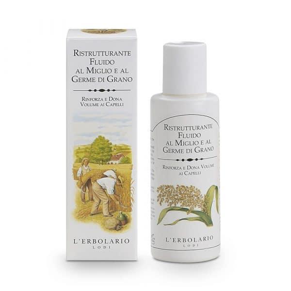 L'Eerbolario Просо и соя жидкий восстановитель для волос с просом и зародышами пшеницы 100 мл