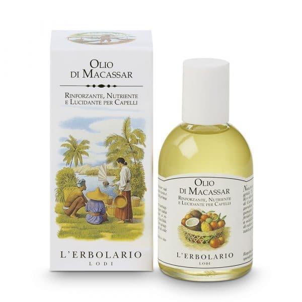 L'Erbolario Масло макассар масло для волос 100 мл
