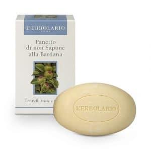 L'Erbolario Нещелочное мыло с репейником 100 г
