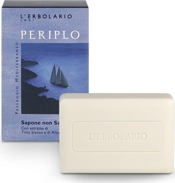 L'Erbolario Кругосветное плавание нещелочное мыло с экстрактом белого тмина и лавра 100 г