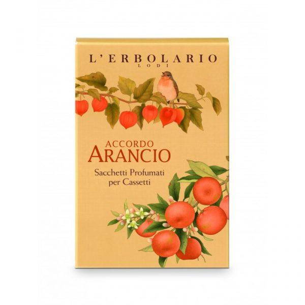 L'Erbolario Апельсин ароматизированное саше для комода