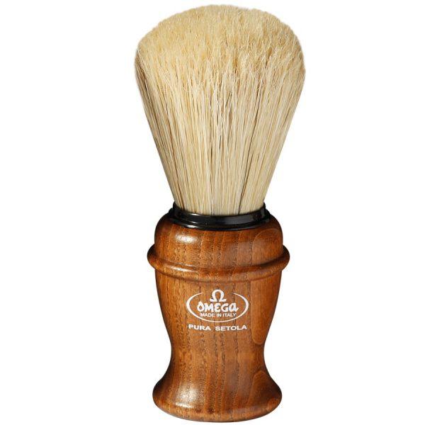Omega 11137 Помазок для бритья, щетина кабана, 11,3 см