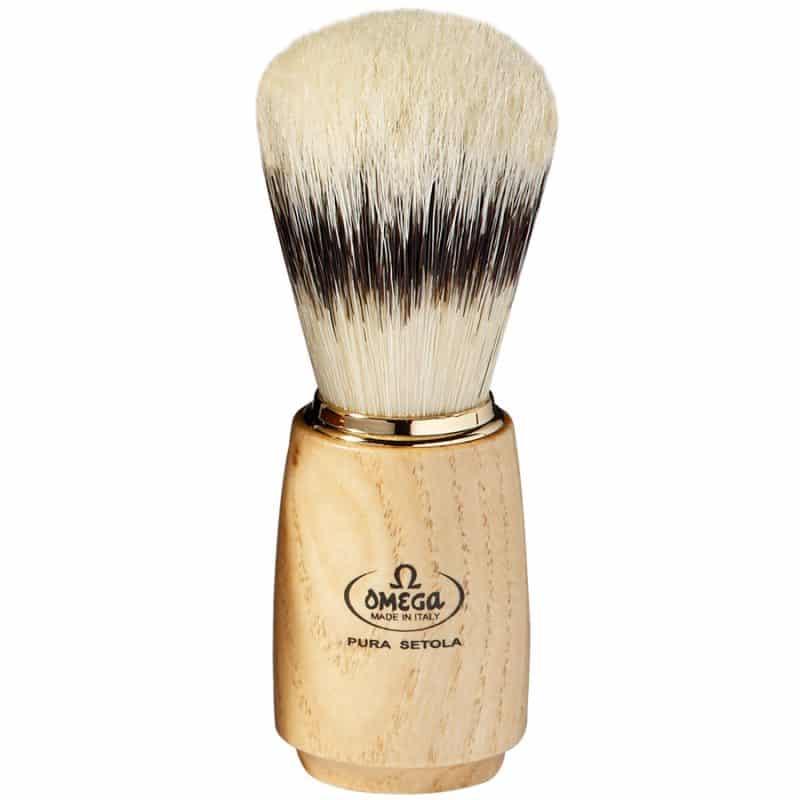 Omega 11150 Помазок для бритья, щетина кабана, 11,5 см