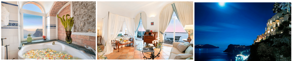 CAESAR AUGUSTUS Capri, Italia. Косметика для отелей