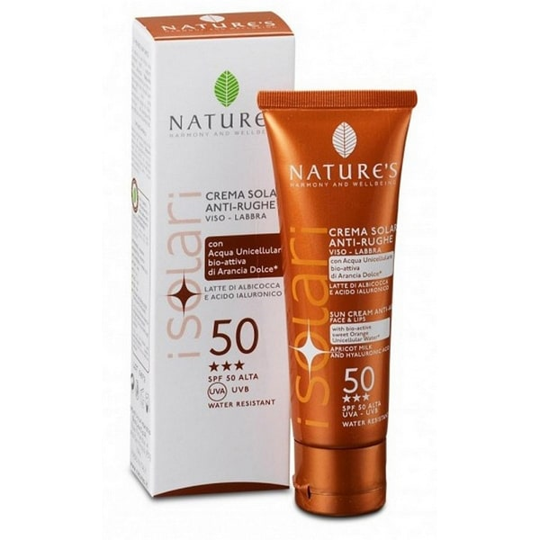 Nature's Крем от солнца антивозрастной для лица и губ SPF-50 50 мл