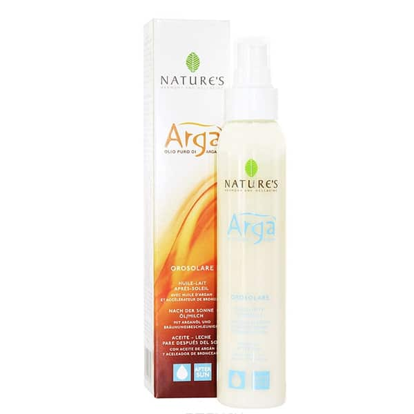 "Nature's ""Arga"" молочко для тела после загара 150 мл"
