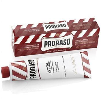 Proraso Linea Rossa крем для бритья питательный (сандал ши) 150 мл