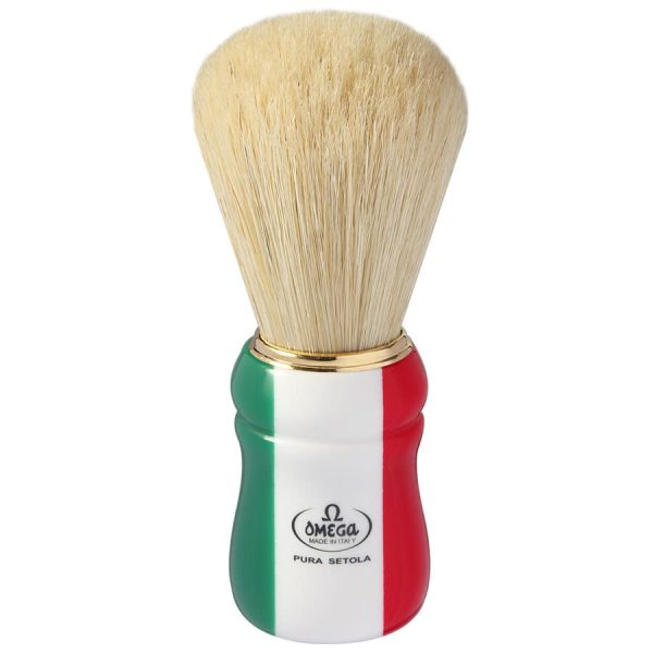 Omega 21762 Помазок для бритья, щетина кабана, 12,7 см