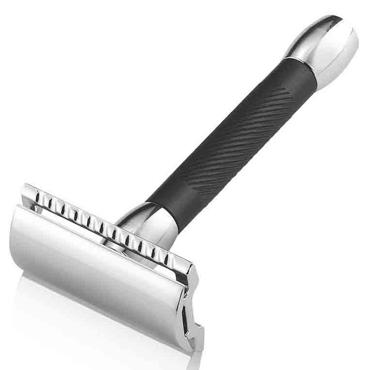 Dovo 9030011 Станок для бритья, хром, ручка черная