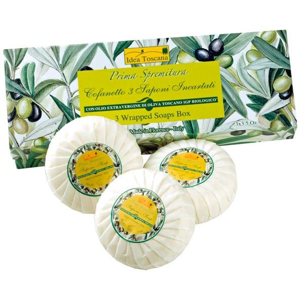 Idea Toscana Растительное мыло (набор 3*100 г)