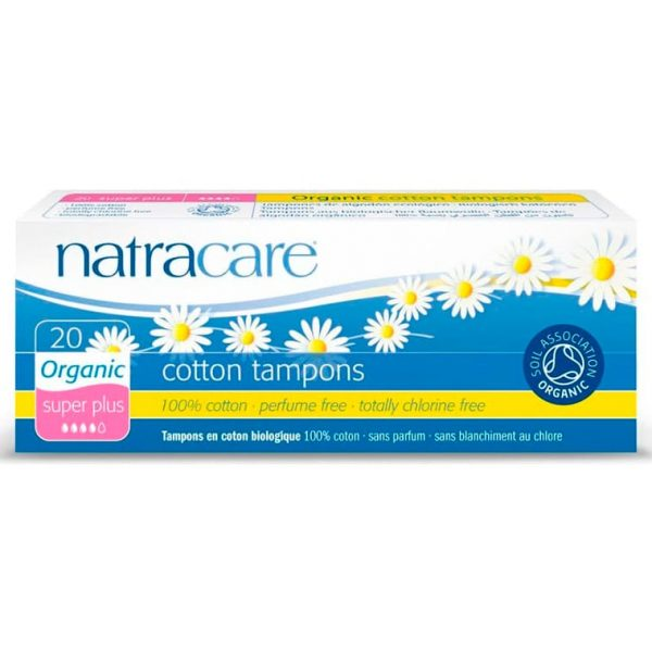 Natracare Тампоны super-plus без аппликатора