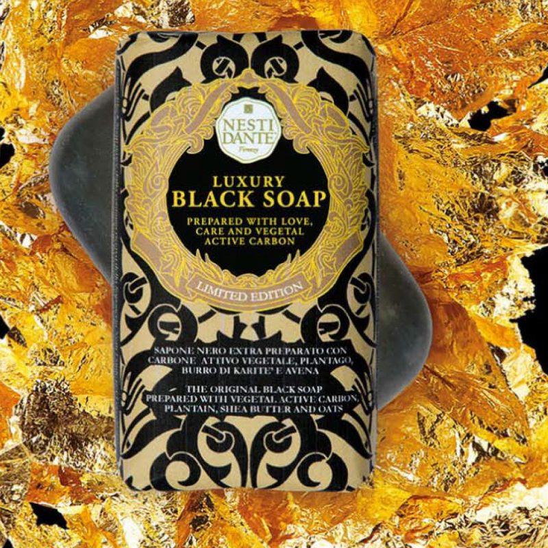 Nesti Dante Мыло Luxury Black Soap (Роскошное Чёрное) 250 г