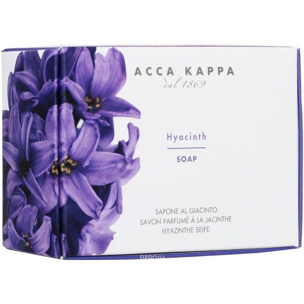 """Acca Kappa Растительное мыло """"Гиацинт"""", 150 г"""