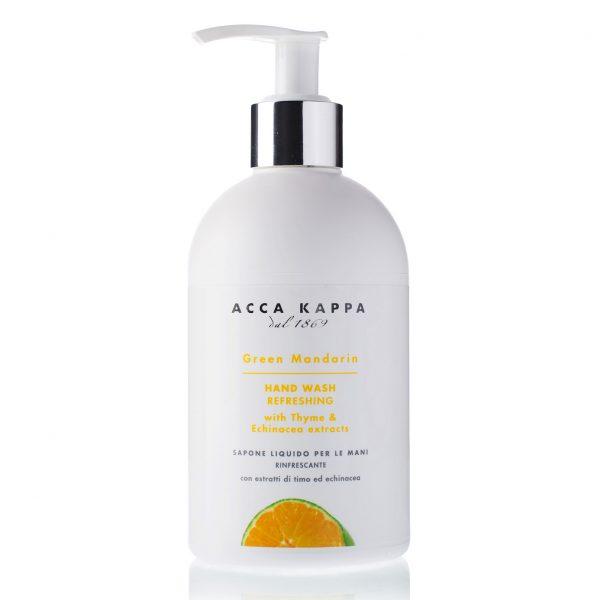 Acca Kappa Green Mandarin жидкое мыло для рук (Зеленый Мандарин) 300 мл