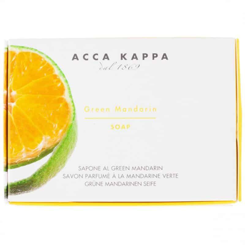Acca Kappa Green Mandarin мыло туалетное (Зеленый мандарин) 150 г