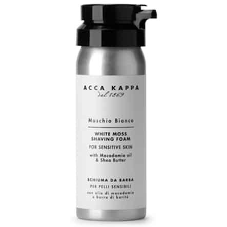Acca Kappa Muschio Bianco пена для бритья (Белый Мускус) 50 мл