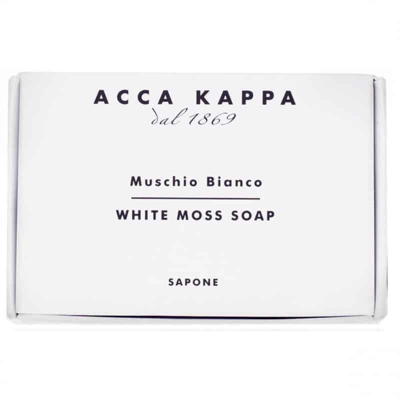 Acca Kappa Muschio Bianco мыло туалетное (Белый мускус) 150 г