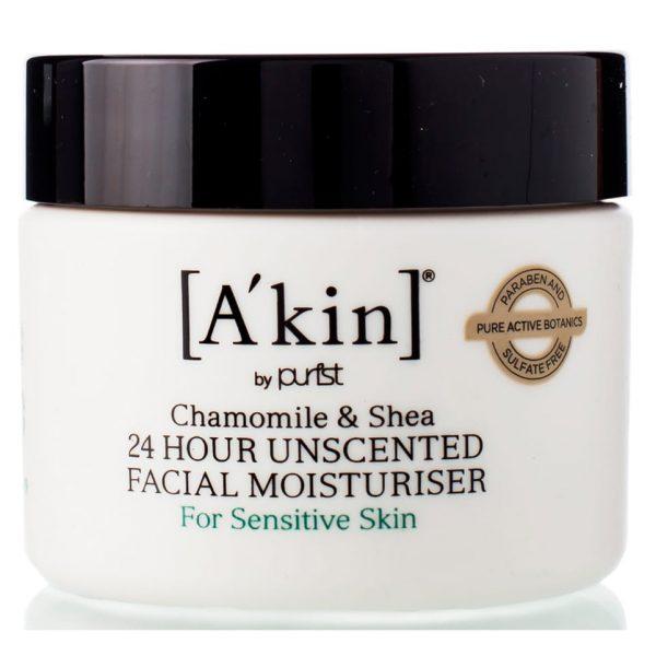 """A'kin Антиоксидантный интенсивно увлажняющий крем для лица """"Шиповник и масло Ши"""" 50 мл"""