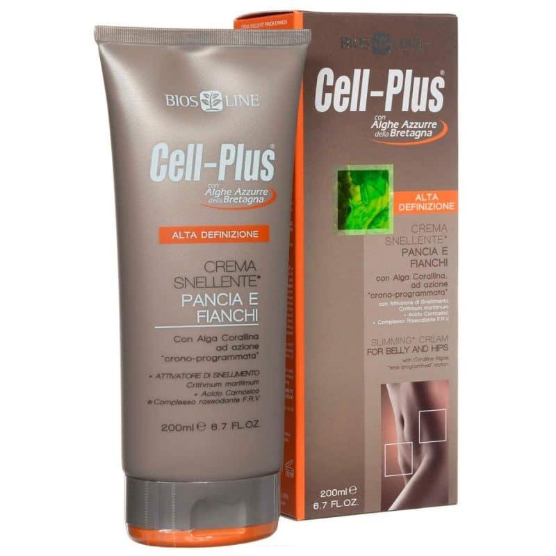 Cell-Plus Крем для похудения в области живота и бедер 200 мл