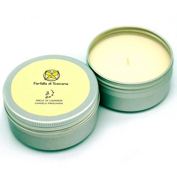 """Farfalla di Toscana Ароматическая свеча """"Лавандовый мед"""" 25 ч"""
