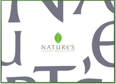 """Фирменная подарочня упаковка """"Nature's"""""""