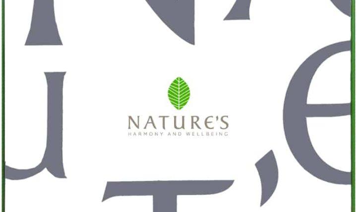 """Фирменная подарочная упаковка """"Nature's"""""""