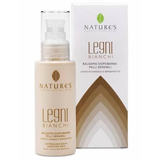 """Nature's """"Белое дерево"""" бальзам после бритья для чувствительной кожи 100 мл"""