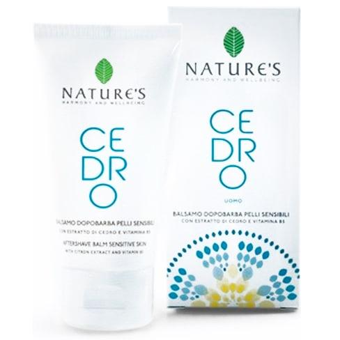 """Nature's """"Цедро"""" бальзам после бритья для чувствительной кожи 75 мл"""