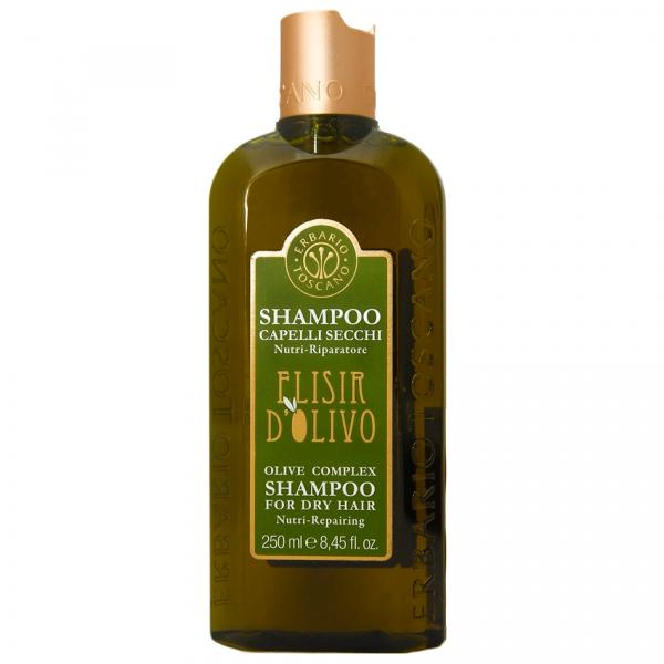 """Erbario Toscano """"Оливковый эликсир"""" шампунь (для сухих волос) 250 мл"""