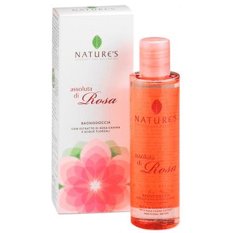 """Nature's """"Абсолютная роза"""" гель для душа 200 мл"""