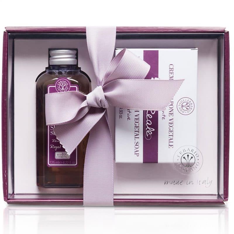 """Erbario Toscano """"Королевский виноград"""" подарочный набор гель для душа + мыло"""