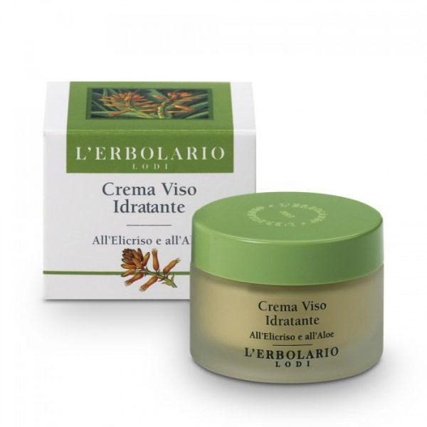 L'Erbolario Крем увлажняющий крем для лица с цмином и алоэ 50 мл