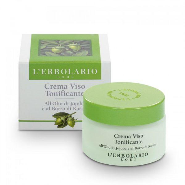 L'Erbolario Тонизирующий крем для лица с маслом хохобы и маслом ши 50 мл