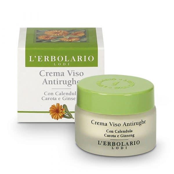 L'Erbolario Крем для лица от морщин с календулой, морковью и женьшенем 30 мл