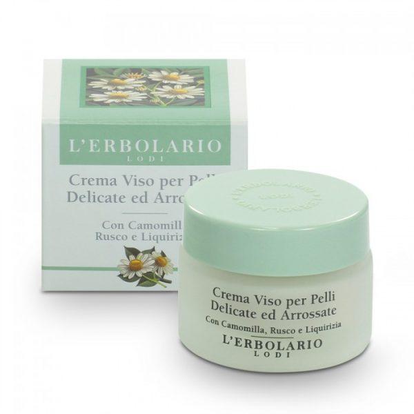 L'Erbolario Крем для чувствительной склонной к покраснению кожи с ромашкой иглицей и лакричником 30 мл