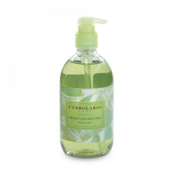 L'Erbolario Очищающая пенка с ароматом листьев 500 мл