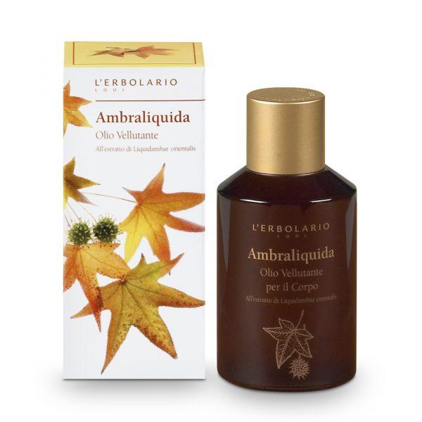 L'Erbolario Амбровое дерево шелковистое масло для тела 150 мл