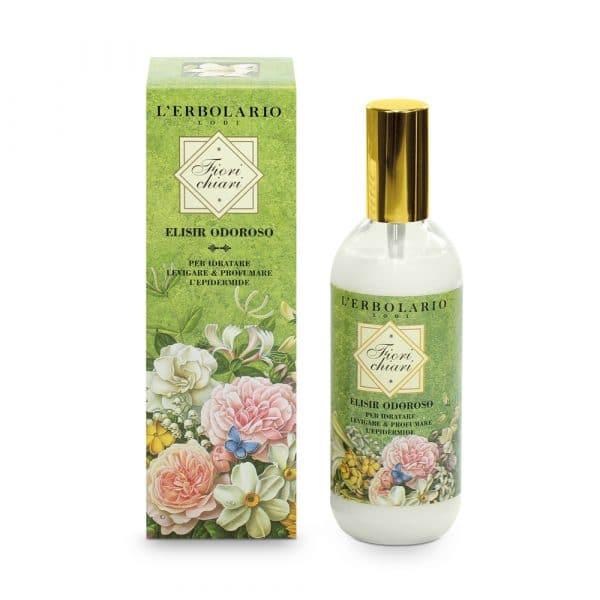 L'Erbolario Белые цветы душистый эликсир для тела 150 мл