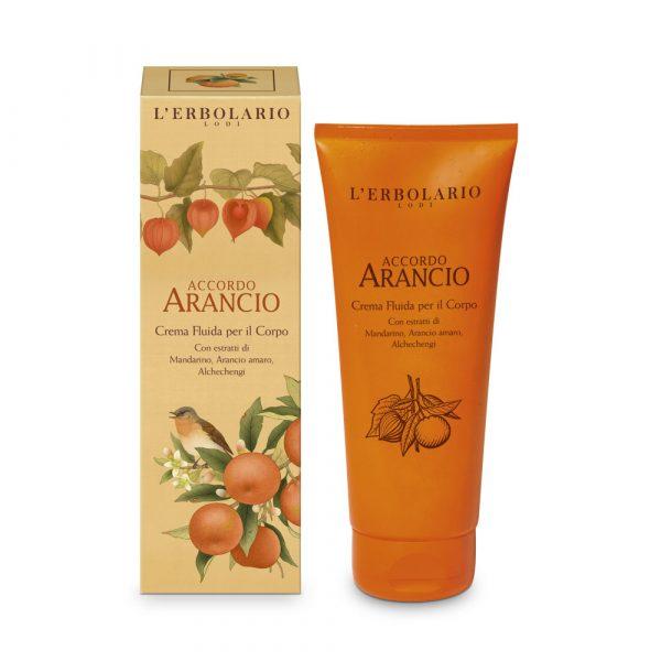 L'Erbolario Апельсин жидкий крем для тела 200 мл