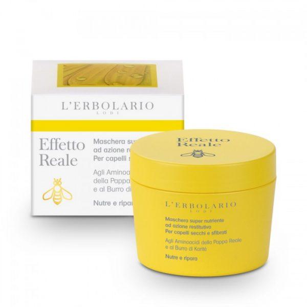 L'Erbolario Пчелиное молочко маска суперпитательная регенирирующая для сухих и поврежденных волос 150 мл