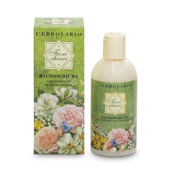 L'Erbolario Белые цветы пена для ванны 250 мл