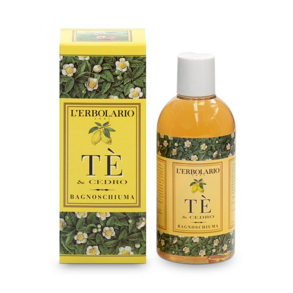 L'Erbolario Чай и цитрон пена для ванны 250 мл