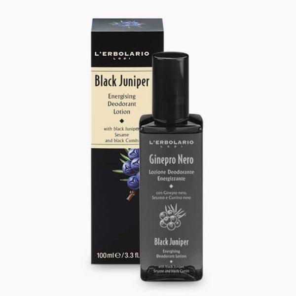 L'Erbolario Черный можжевельник лосьон-дезодорант