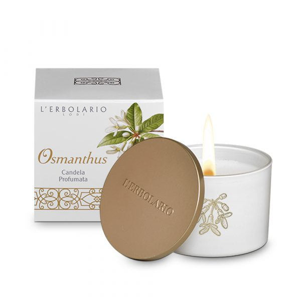L'Erbolario Османтус ароматизированная свеча 28 ч