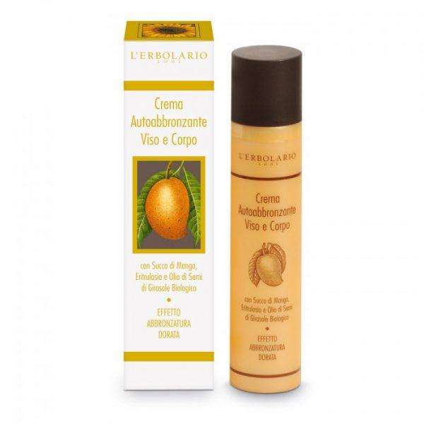 L'Erbolario Крем-автозагар для лица и тела с соком манго 100 мл